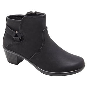 Wide Matte Black Dawnta Boots booties easy street